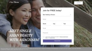 Asia Charm Dating Site Post Thumbnail