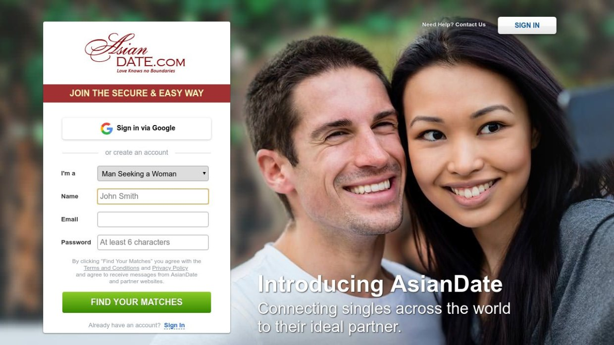 Asian Date Dating Site Post Thumbnail